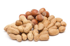 Various nuts Royalty Free Stock Images