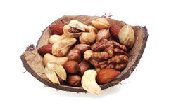 Various nuts Royalty Free Stock Photography