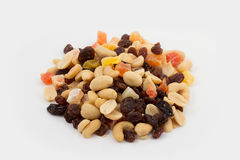 Various nuts and dried fruit Royalty Free Stock Photography
