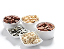 Various nuts Stock Photo