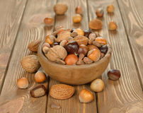Various nuts Royalty Free Stock Image