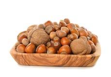 Various nuts Royalty Free Stock Photos