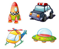 Various objects royalty free illustration