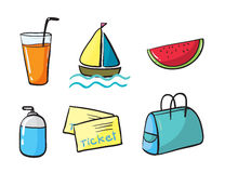 Various objects Royalty Free Stock Photo