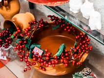 Various objects for the Italian Christmas period stock photo