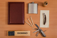 Various office personal things Royalty Free Stock Images