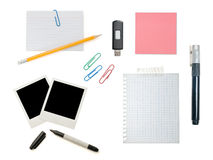 Various office supplies Stock Image