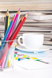 Various office tools Stock Images