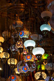 Various old lamps on the Grand Bazaar Stock Image