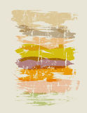 Various paint strokes, grungy texture Stock Image