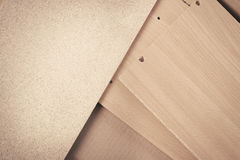 Various part of furniture on the floor Royalty Free Stock Photography