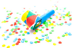 Various party decoration utensils Royalty Free Stock Images