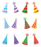 Various Party Hats Pack Royalty Free Stock Photos