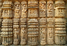 The Various passtime of royal indian family Stock Photos