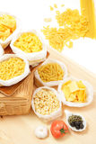 Various pasta Stock Photos