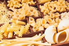 Various pasta Stock Photo