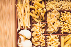Various pasta Royalty Free Stock Photo