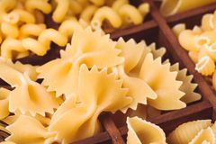 Various pasta Stock Images