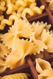 Various pasta Royalty Free Stock Photography