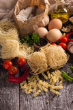 Various pastas Royalty Free Stock Photography