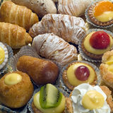 Various pastry Stock Images