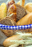 Various pastry and bread Royalty Free Stock Photography