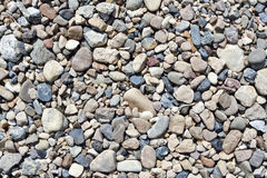 Various pebble stones. Royalty Free Stock Photo