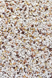 Various pebble stones and Peach rock Stock Photography