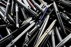 Various pen mix Stock Photo