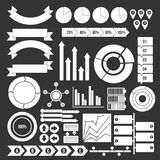Various people icons set grey vector. Various people icons set vector white isolated on grey background Stock Illustration