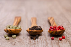 Various pepper Royalty Free Stock Images