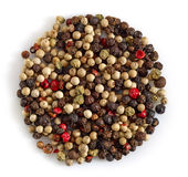 Various pepper mix Royalty Free Stock Images