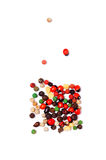 Various peppercorns Royalty Free Stock Photo