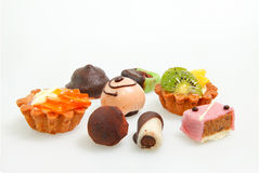 Various Petit fours Royalty Free Stock Photo