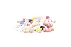 Various pharmaceuticals Royalty Free Stock Photo