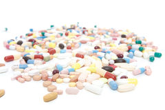 Various pharmaceuticals Stock Images