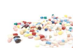 Various pharmaceuticals Royalty Free Stock Photos