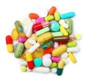 Various pharmaceuticals, pills Royalty Free Stock Image