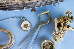 Nautical equipment stock photo