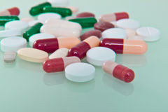 Various pills Stock Photography