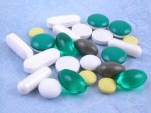 Various pills Royalty Free Stock Photography