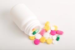Various pills Royalty Free Stock Photos