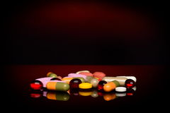 Various pills Royalty Free Stock Images