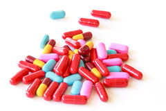 Various pills Stock Image