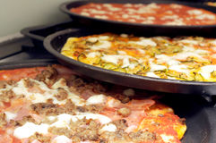 Various Pizza Stock Photo