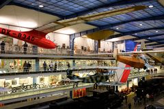 National Technical Museum in Prague royalty free stock photo