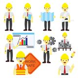 Various Professional People Occupation Vector Illustration Graphic Set. Various Professional People Occupation Vector Illustration Graphic Design Set Stock Photo
