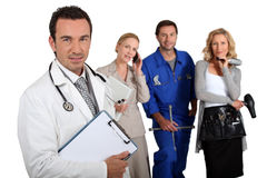 Various professions Royalty Free Stock Photography