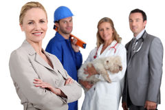 Various professions Stock Photos