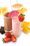 Various protein cocktails Stock Images